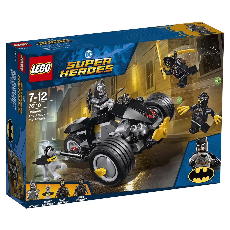 Конструктор LEGO Super Heroes «Бетмен: Нападение Когтей» 76110
