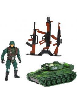 Игр.набор Армия, предметов 5шт., пакет