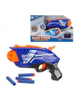 Бластер с мягкими пулями, в комплекте: м/пули 20шт.