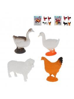Игровой набор Ферма, 4 предмета в асс., пакет