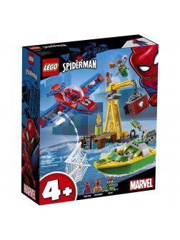 Конструктор LEGO Super Heroes «Человек-паук: похищение бриллиантов Доктором Осьминогом» 76134