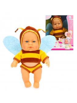 Пупс-пчелка, 22 см, кор.