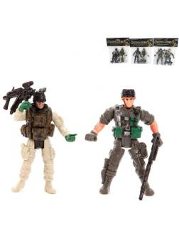 Набор фигурок Солдат с оружием, 2 шт., в ассортименте
