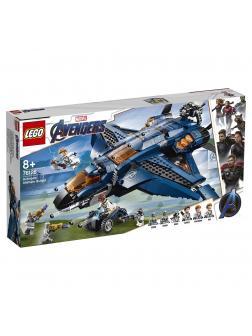 Конструктор LEGO Super Heroes «Модернизированный квинджет Мстителей» 76126