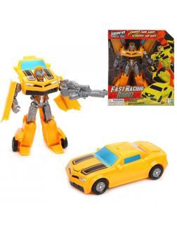 Трансформер Робот-машина, оружие, коробка