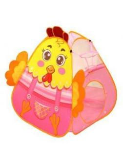 Палатка игровая Петушок, с баскетбольной корзиной, сумка на молнии