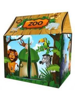 Палатка игровая Зоопарк, коробка