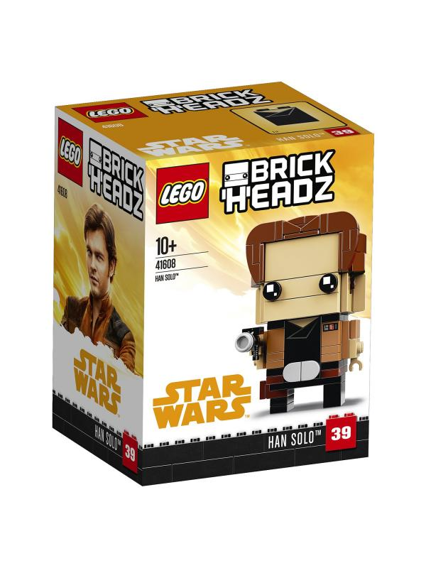 Конструктор LEGO BrickHeadz «Хан Соло» 41608, 141 деталь