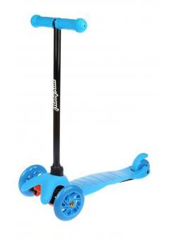 Самокат MobyKids Basic 1, 120 мм PVC, голубой