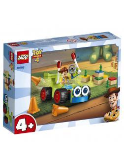 Конструктор LEGO Toy Story 4 «Вуди на машине» 10766, 69 деталей