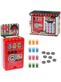 Игровой набор Продукты (Вендинговый аппарат), свет, звук в компл.23 предм., батар.АА*2шт.не вх.в комп., кор.