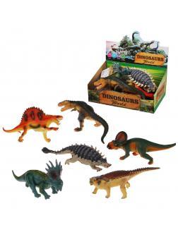 Динозавр со звуком в ассорт.,эл.пит. AG3/LR41*2шт. вх.в компл., дисплей
