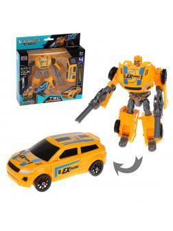 Робот-трансформер, в комплекте предметов 2шт., в ассортименте