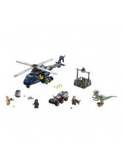 Конструктор LEGO Jurassic World «Погоня за Блю на вертолёте» 75928, 397 деталей