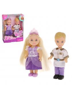 Игр.набор Карнавал, в комплекте: кукла 12см - 2шт., корона, коробка