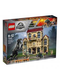 Конструктор LEGO Jurassic World «Нападение индораптора в поместье Локвуд» 75930, 1019 деталей