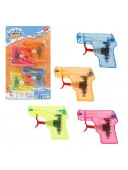 Пистолет водяной 9 см, в наборе 4 шт. цветной