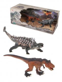 Игровой набор динозавры, 2 предм., коробка