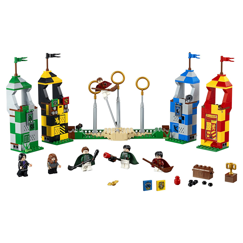 Конструктор LEGO Harry Potter «Матч по квиддичу» 75956, 500 деталей