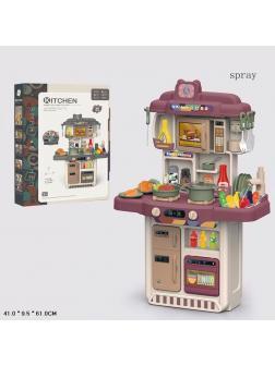 Детская кухня со звуковыми и световыми эффектами 383-052A / 34 предмета