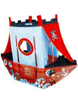 Палатка игровая Пиратский корабль, 170*70*135 см, сумка