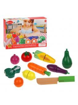 Игровой набор Овощи, 19 деталей, кор.