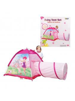 Палатка игровая c туннелем Замок Феи, коробка