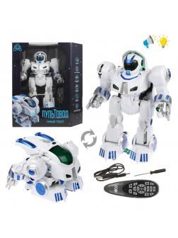 Трансформер Робот р/у, свет, звук, встроен.аккум., USB шнур, эл.пит.ААА*2шт.не вх.в комплект, в ассортименте