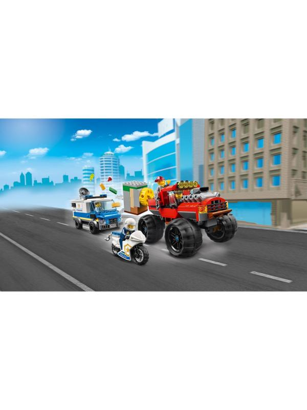 Конструктор Lari «Ограбление полицейского монстр-трака» 11533 (City 60245) / 386 деталей