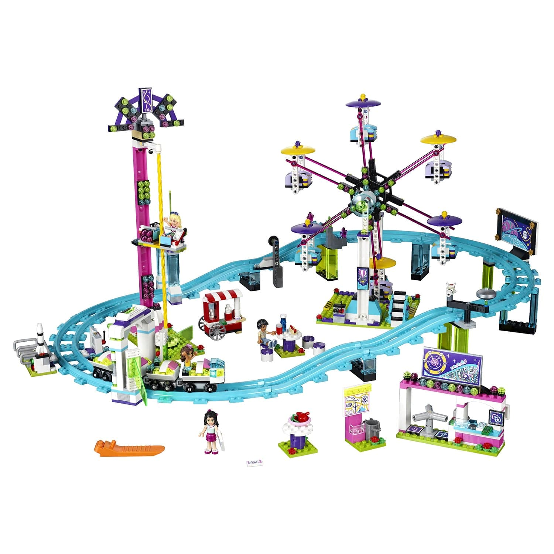 Конструктор Bl «Парк развлечений: Американские горки» 10563 (Френдс 41130) / 1136 деталей