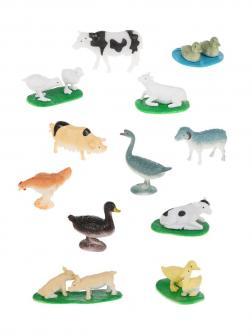 Игровой набор Ферма, 12 предметов, пакет