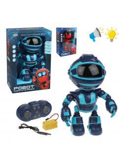 Робот р/у, свет, звук, в комплекте: аккум., USB шнур, эл.пит.АА*2шт.не вх.в комплект, коробка