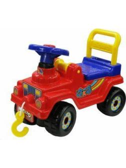 Машина-каталка Джип 4х4 №2 (красный)