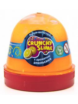 Слайм Mr.Boo Crunchy slime Апельсин, 120 гр