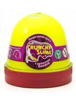 Слайм Mr.Boo Crunchy slime Банан, 120 гр