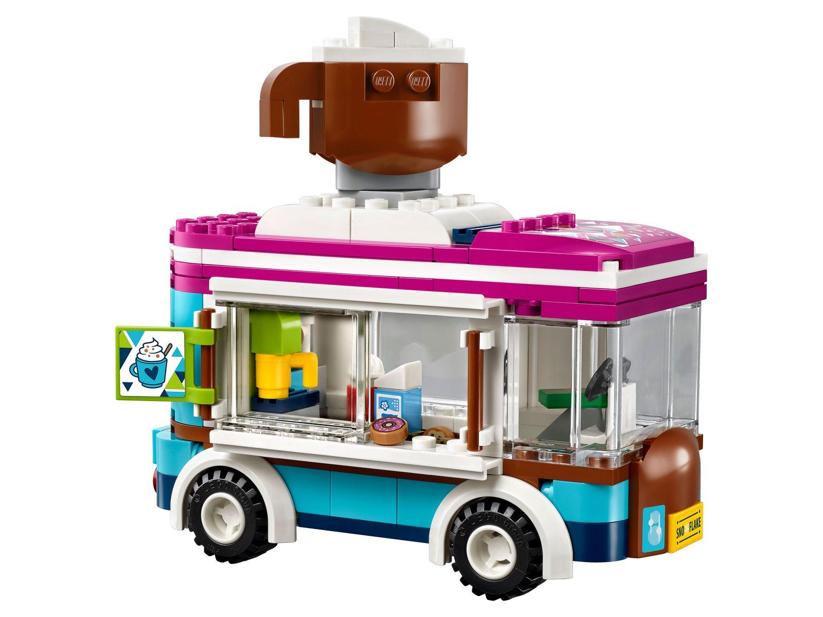 Конструктор Bl «Горнолыжный курорт: Фургончик по продаже горячего шоколада» 10729 (Friends 41319) / 254 детали