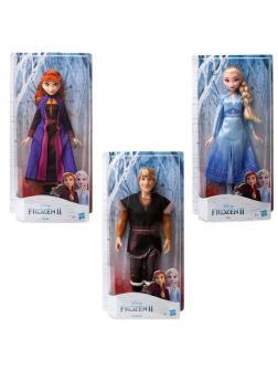 Кукла Hasbro Disney Princess Холодное сердце 2. 3 вида Эльза, Анна и Кристофф