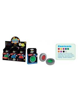 Игрушка-антистресс PAULINDA Жвачка для рук Стандартные цвета, объем 50 гр., 18 штук в дисплее .