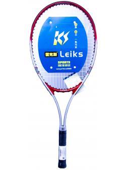 Ракетка Bosaite для большого тенниса в чехле, 11504KS / красный-серый