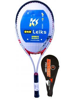 Ракетка Bosaite для большого тенниса в чехле, 11504KCH / красный-черный