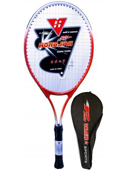 Ракетка Bosaite для большого тенниса в чехле, 11504OR / оранжевый