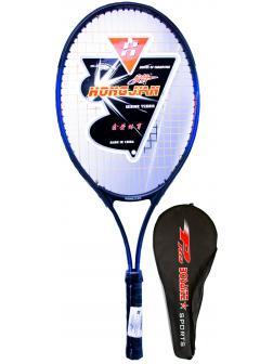 Ракетка Bosaite для большого тенниса в чехле, 11504CH / черный