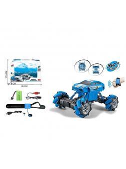 Радиоуправляемый внедорожник с управлением жестами «BigFoot» 3700-129A, свет, звук / Синий
