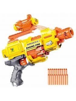 Автомат-бластер «Пулемёт» с мягкими пулями / 7008-E