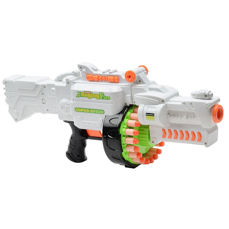 Детский пулемет «Blaze Storm» с мягкими пулями / 7019