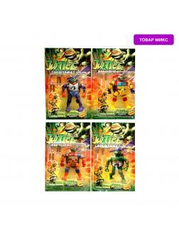 Игровая фигурка Justice «Черепашки ниндзя» 6281 / Микс