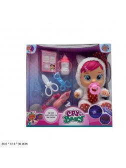 Кукла «Cry Baby» с аксессуарами / 3365-226