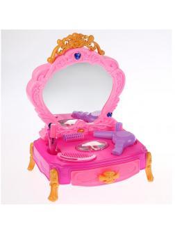 Игровой набор «Столик юной леди» с аксессуарами, звуковыми и световыми эффектами 34 см / 80852C