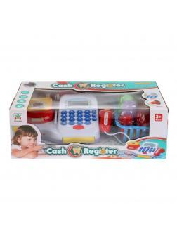 Игровой набор «Кассовый аппарат» с аксессуарами, звуковыми и световыми эффектами / LS820A19-1