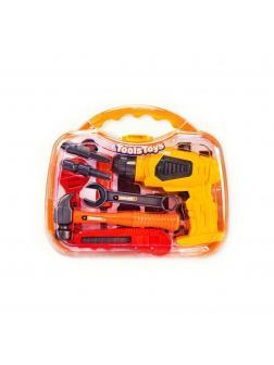 Игровой набор Tools Toys «Строительные инструменты» 36778-64, 10 предметов